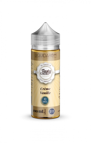 LIQUIDAROM TASTY  CREME VANILLE - 00MG -100ML
