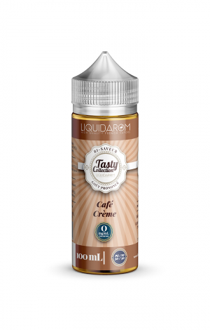 LIQUIDAROM TASTY  CAFE CREME - 00MG -100ML