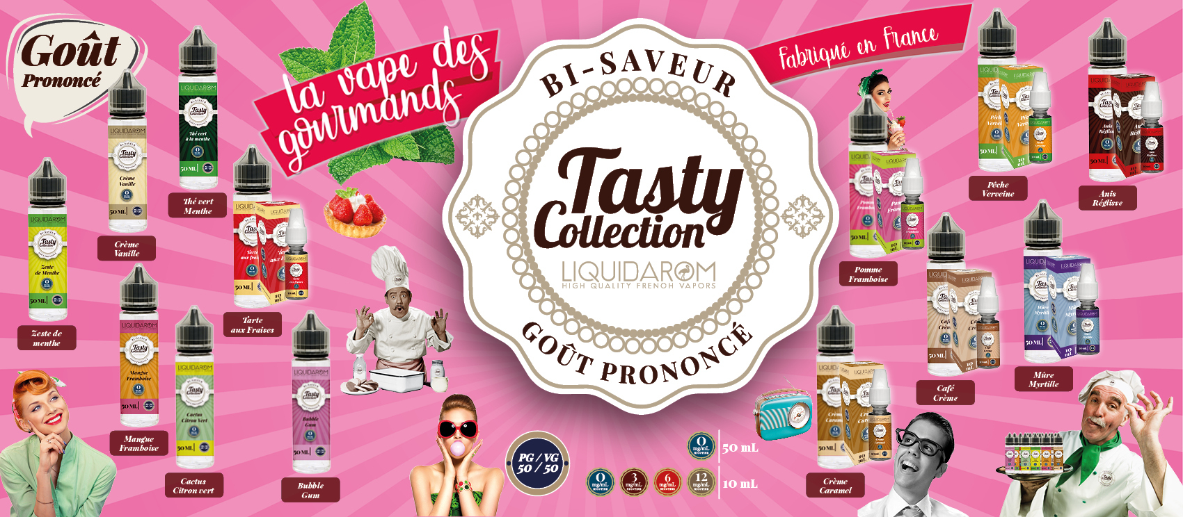 Gamme Tasty
